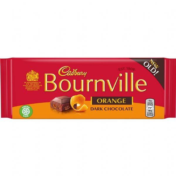 Cadbury Bournville Orange 100g